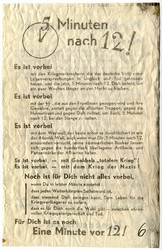662810: Third Reich Propaganda, Documents, Flyers and Leaflets