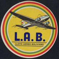 1905: Bolivien - Aufkleber