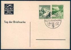 Postal History, Stamp Day, Germany - 1945