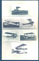 443010: Aviation, Famous WW-I Pilots, Sanke Postcards