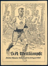 664014: Third Reich Propaganda, Special Postmarks, SA