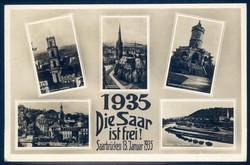 662600: Third Reich Propaganda, Saar plebiscite,