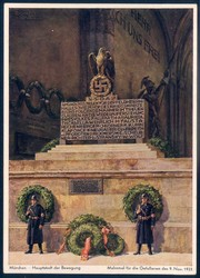 663400: Third Reich Propaganda, 9.November.1923,
