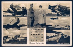 146030: Fieldpost World War II - Air Force - Picture postcards
