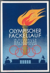 780515: Sport & Games, Olympic games Berlin 1936, Torch Run