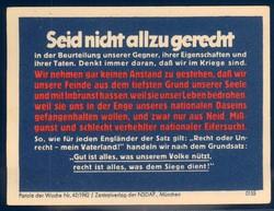 663010: Third Reich Propaganda, Vignettes/Labels, NSDAP