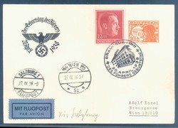 Austria Ostmark - Private postal stationery