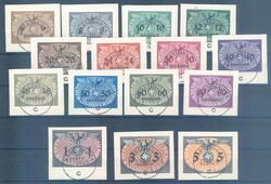 550: Generalgouvernement - Official stamps