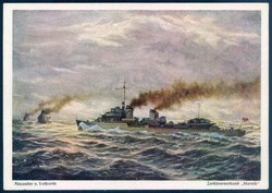 742030: Ships and Navigation, Military Ships until WW-II, Destroyer