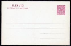 330: Deutsche Abstimmgeb. Schleswig - Ganzsachen