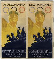 780500: Sport & Games, Olympic games Berlin 1936