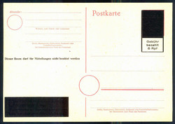 1291: Postage paid on entires, emergency issues - Postal stationery