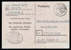 1305: Bizone - Ganzsachen