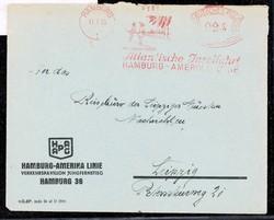 746014: Ships and Navigation, Ship Mail, International Ship Mail 1933-45