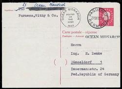746009: Schifffahrt, Schiffspost, Deutsche Schiffspost ab1945
