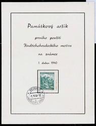 475: Bohemia and Moravia - Memorial sheetlets