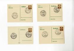 984020: Zeppelin, Zeppelin Mail LZ 130, Germany Flights