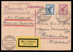 448020: Aviation, Airmail, German Airmail