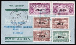 Christ-Stamps Zeppelin - Lot 139