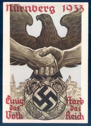 662402: Third Reich Propaganda, Events and Party Rallies, Party Rally 1933