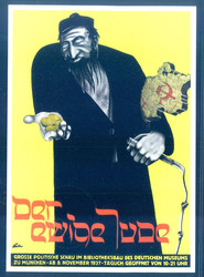 660800: Third Reich Propaganda, Antisemitic Cards ,