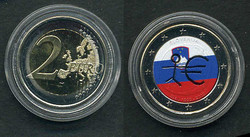 40.490.10.30: Europe - Slovenia - Euro - Coins - commemorative issues