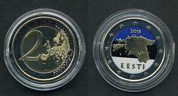40.90.10: Europe - Estonia - Euro - Coins