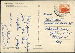 6335: Tschechoslowakei - Autographen