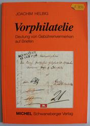 7700: Sammlungen und Posten Vorphilatelie - Kataloge