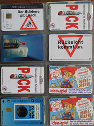8600: Telefon cards