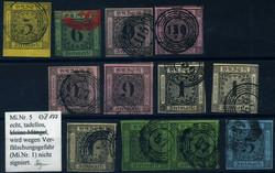10: Altdeutschland Baden - Sammlungen