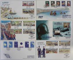 1655: Alderney - Briefe Posten