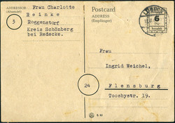 1304030: British Zone Provisional Issues - Postal stationery