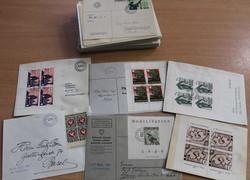 5711: Schweiz Soldatenmarken - Briefe Posten