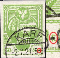 4955: Polen Ausgaben für Ostoberschlesien Insurgenten