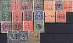 310: Oberschlesien - Dienstmarken