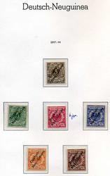 165: Deutsche Kolonien Neuguinea - Sammlungen