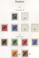 200: Deutsche Kolonien Karolinen - Sammlungen