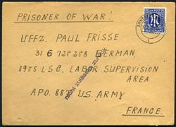 6355530: Deutsch Kriegsgefangenen Post