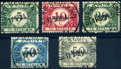 1845: Belgische Besatzung in Malmedy - Portomarken
