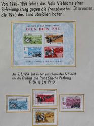 6665: Vietnam Nord und Republik - Sammlungen