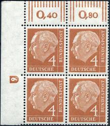 1420: Bundesrepublik Deutschland - Bogenränder / Ecken