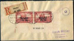370: Deutsche Besetzung I. WK Postgebiet Ober Ost -