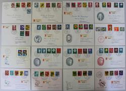 5655: Schweiz - Briefe Posten