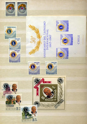 3025: Int.Organisationen, Rotary, Lions
