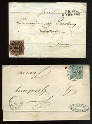 95: Altdeutschland Thurn und Taxis - Briefe Posten