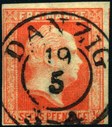340: Danzig - Stempel