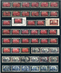 155: Deutsche Auslandspost Marokko - Lot