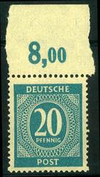 1300: Gemeinschaftsausgaben - Bogenränder / Ecken