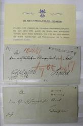 7700: Sammlungen und Posten Vorphilatelie - Sammlungen
